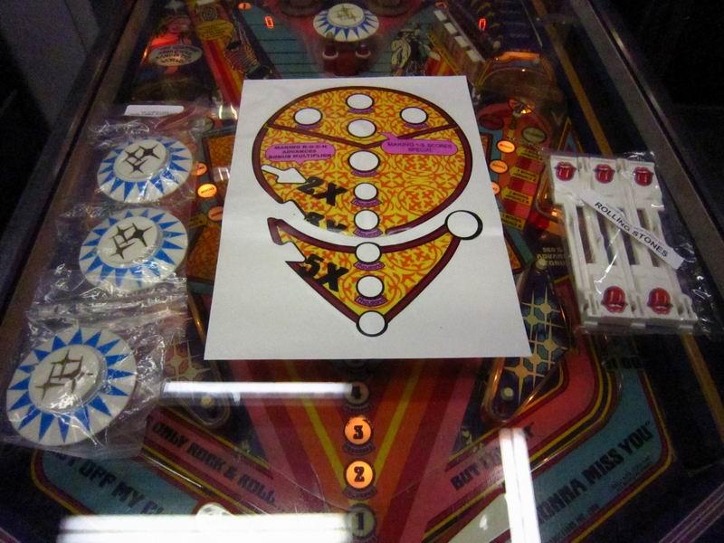 1979 Bally Rolling Stones Pinball Machine Ebay